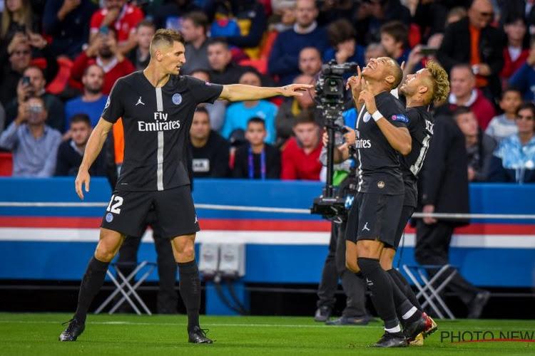 C1 : Le PSG et un grand Neymar explosent l'Etoile Rouge, le Lokomotiv craque