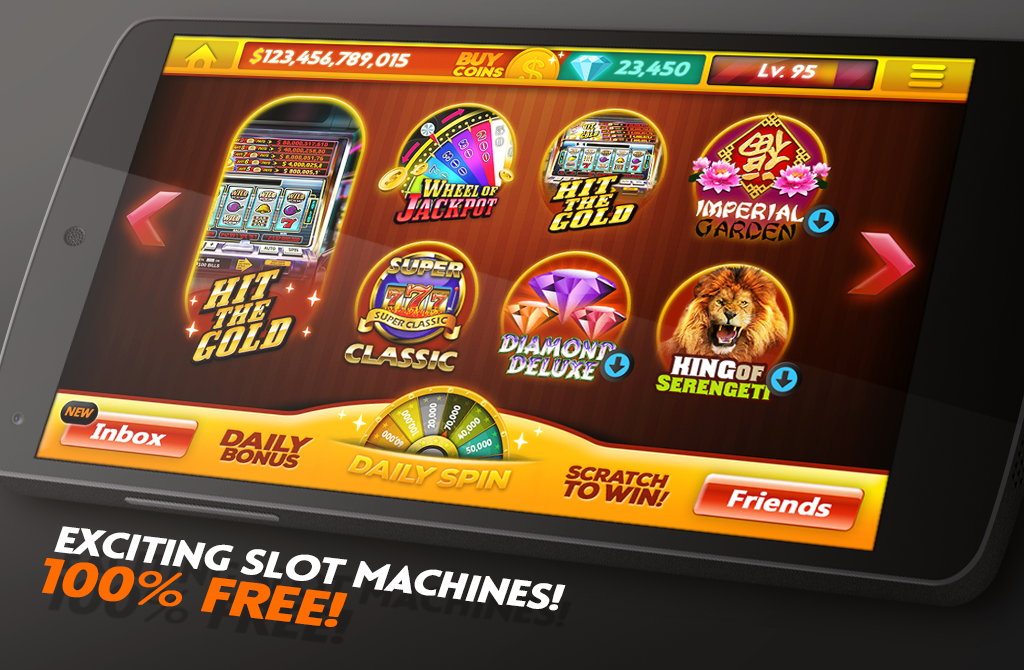 real casino games slots free hit the gold