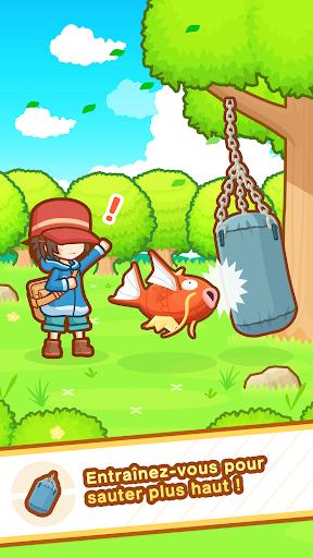 Code Triche Poku00e9mon : Magicarpe Jump APK MOD screenshots 2