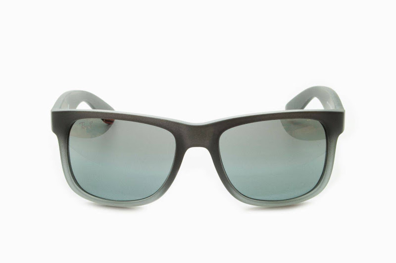 Ray Ban RB4165 Justin Sunglasses 852/88 Grey Mat Mirror