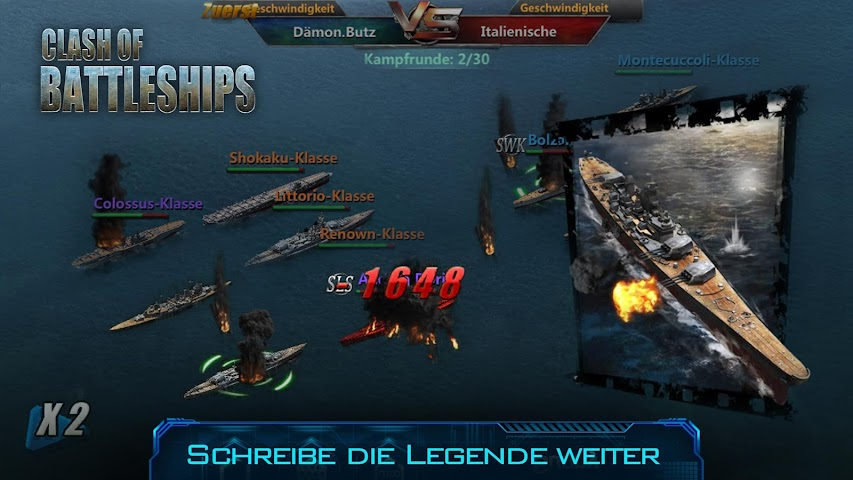 android Clash of Battleships Screenshot 9