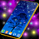 Firefly Live Wallpaper 🌟 HQ Forest Night Themes icon