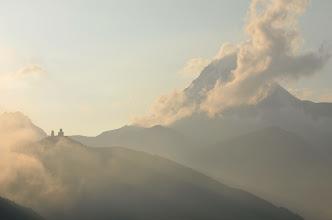 Photo: Kazbek i klasztor Cminda Sameba