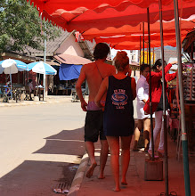 Photo: Day 303 -  Tourists in Vang Vieng