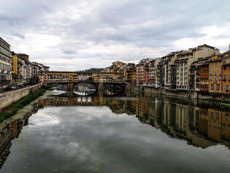 Simmetria verticale sull'Arno di francescomattiamacri