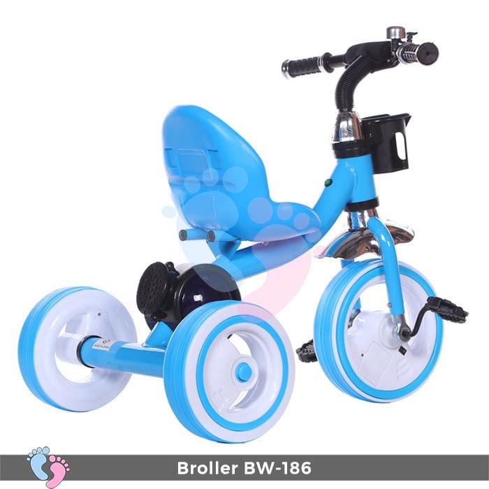 Xe đạp 3 bánh Broller XD3-186 có đèn bánh xe 5