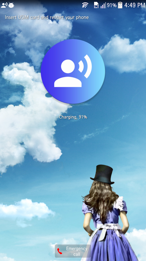 Talking Clock(PowerKey,Sensor)- screenshot