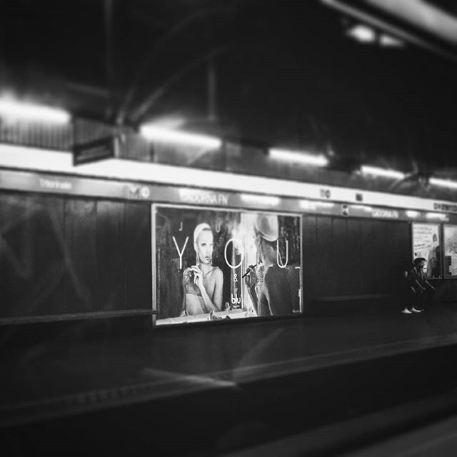 Just YOU  #igerslombardia #igersmilano #ig_captures #ig_city #ig_bnw #streetphotography #bnw_planet #monochrome #agameoftones #bnw_universe #ae_bnw #bnw_captures #ig_shotz #huffpostgram #vscomilano #vscogoodshot #livethelittlethings #vscoitaly #exploremor di Tudor Craciun