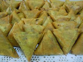 Photo: samossa bœuf au curry vert
