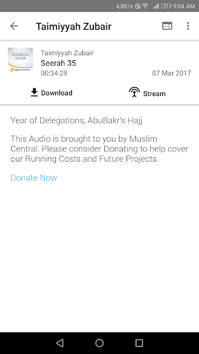 Taimiyyah Zubair - Lectures screenshot 19
