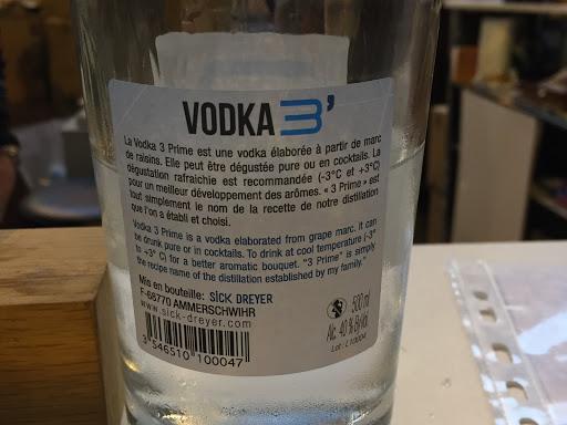 Sick Dreyer Marc vodka