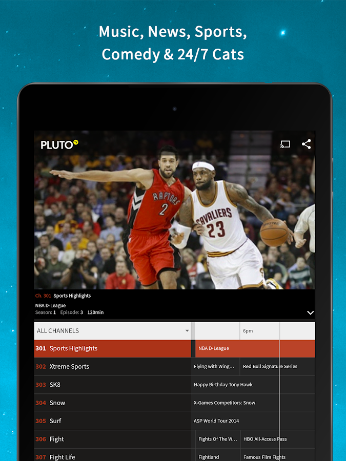 Pluto TV- screenshot