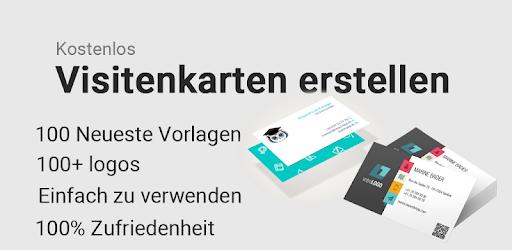 Visitenkarten Erstellen Gestalten Drucken App 2019 Apps