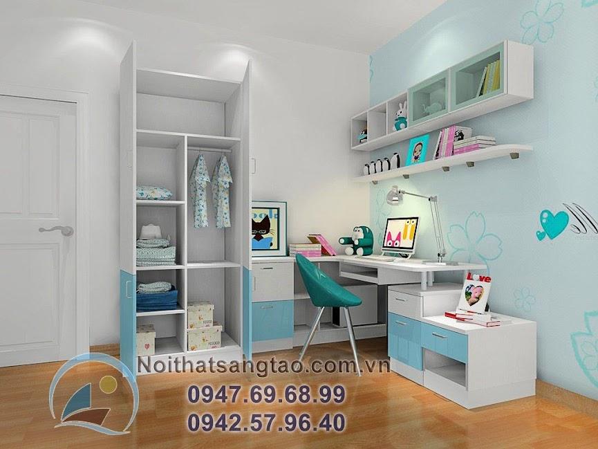 thiết kế phòng ngủ bé gái 4