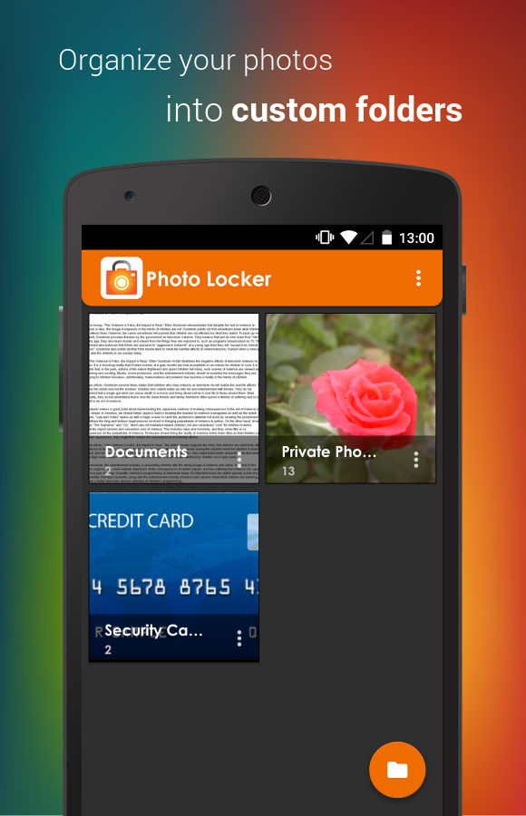 Hide Photos in Photo Locker- screenshot