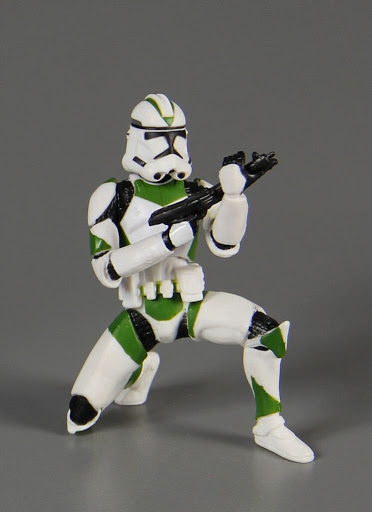 Action figure:Star Wars Revenge of the Sith: Clone Trooper - Build Your Armor