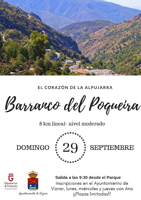 Excursion al alpujarra viznar 2019