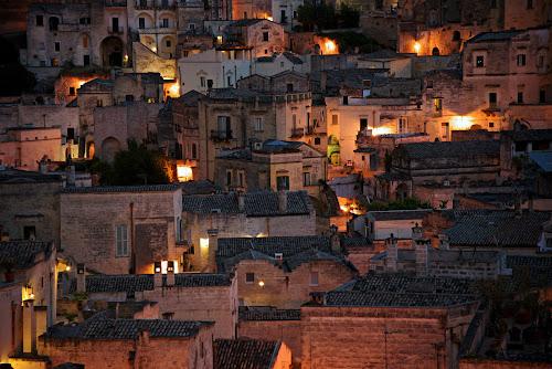 Matera night by Pier Riccardo Vanni - City,  Street & Park  Night