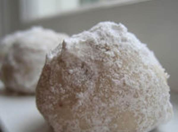Chocolate Filled Snowballs Recipe