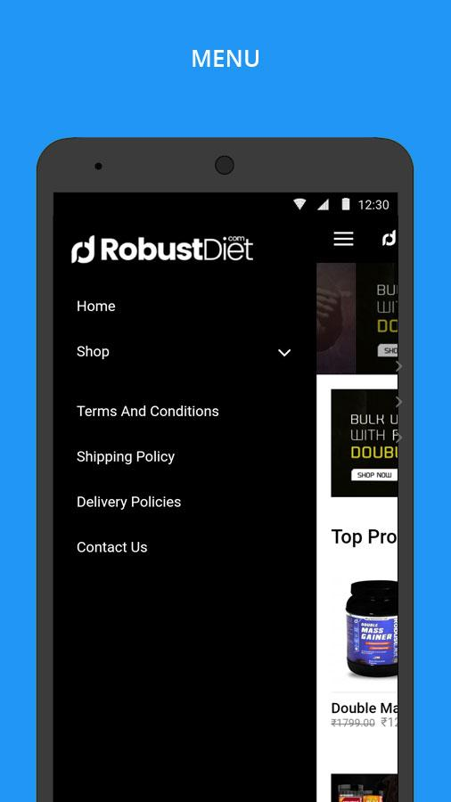 RobustDiet- screenshot