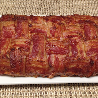Bacon Wrapped Cheese Stuffed Italian Meatloaf – Keto and Low Carb.