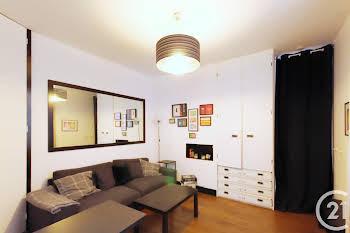 Appartement meublé 2 pièces 29,6 m2