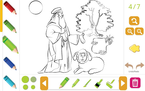 Bible Coloring for Kids Free for PC-Windows 7,8,10 and Mac apk screenshot 3