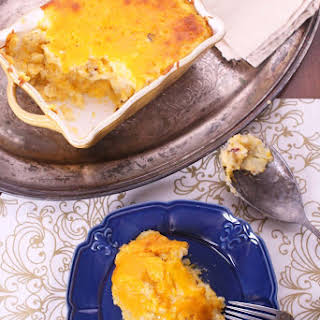 Twice Baked Potato Casserole For One.