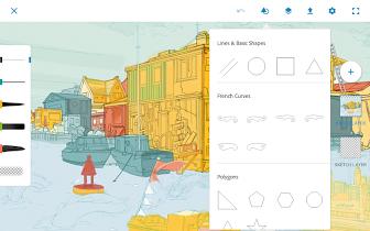 Adobe Photoshop Sketch - screenshot thumbnail 17