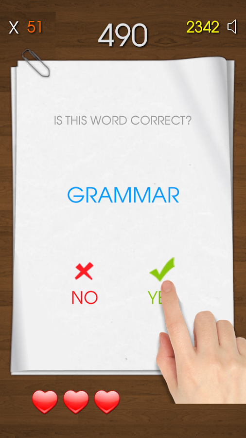 Spelling Test - Free- screenshot