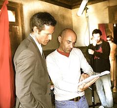 Photo: O ator Paulo Pires com o realizador Miguel Costa