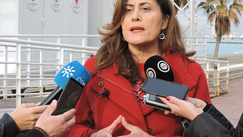 Carmen Aguilar, concejal socialista del Ayuntamiento de Almería