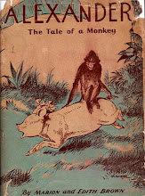 Photo: Alexander, The Tale Of A Monkey.  Marion And Edith Brown (authors), Bobbs Merrill, 1934.