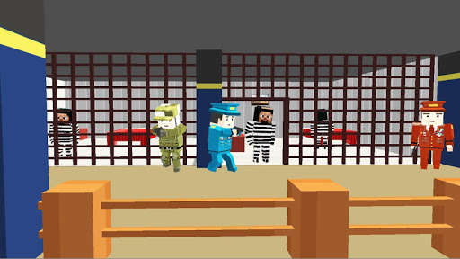 American Jail Break - Block Strike Survival Games 5.5 screenshots 2