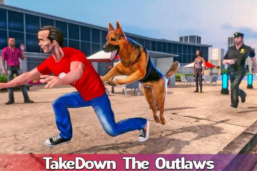 Code Triche US Police Dog: Crime Chase Duty Simulator apk mod screenshots 3