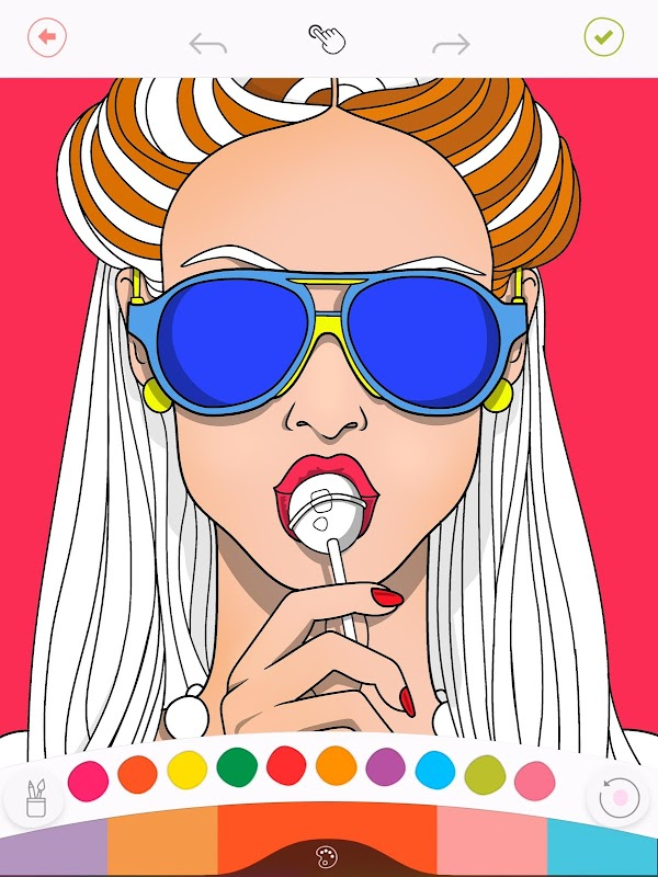 Colorfy: Coloring Book for Adults - Free screenshots