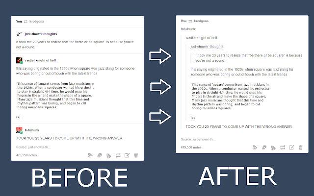 Tumblr Posts Fix