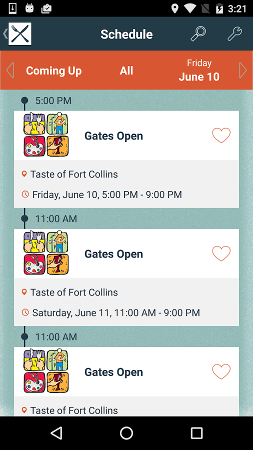 Taste of Fort Collins 2016- screenshot