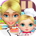 Chef Mommy & Baby: Doctor Game icon