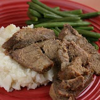 Sweet Mustard Roast (Beef or Pork) Slow Cooker Recipe