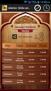 Islamic Prayer Times & Qibla- screenshot thumbnail