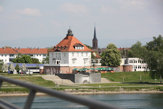 Photo: Day 27 - Crossing the Rhine into Germany (Town of Kehl)