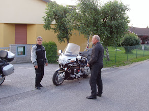 Photo: Start zum Berg der Biker