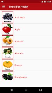 Fruits For Health screenshot 1