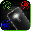 Flash Light on Call & SMS icon