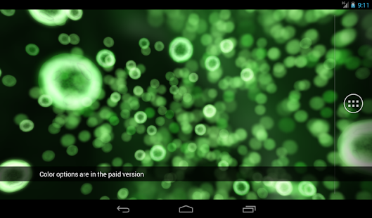 Neon Microcosm Free LWP- screenshot thumbnail