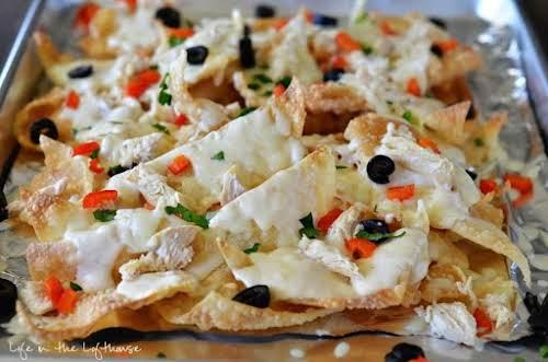 "Italian Nachos ""Italian Nachos aka - my new weakness. These nachos are..."