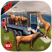 Transport Truck: Farm Animals