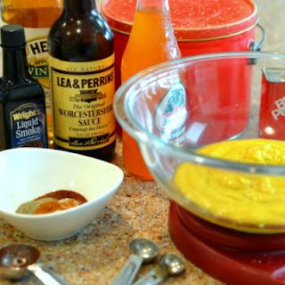 Famous Mustard Sauce (Carolina BBQ Mustard Sauce).