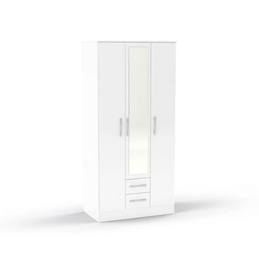 Birlea Lynx White Bedroom Furniture